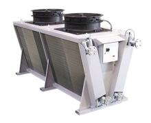 The Mark AWSV single row V-shaped Dry Coolers.