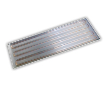 Ceilfit radiant panel for grid type ceilings
