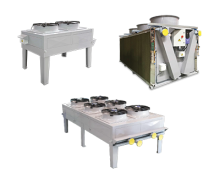 Dry Coolers for pleasant cooling.