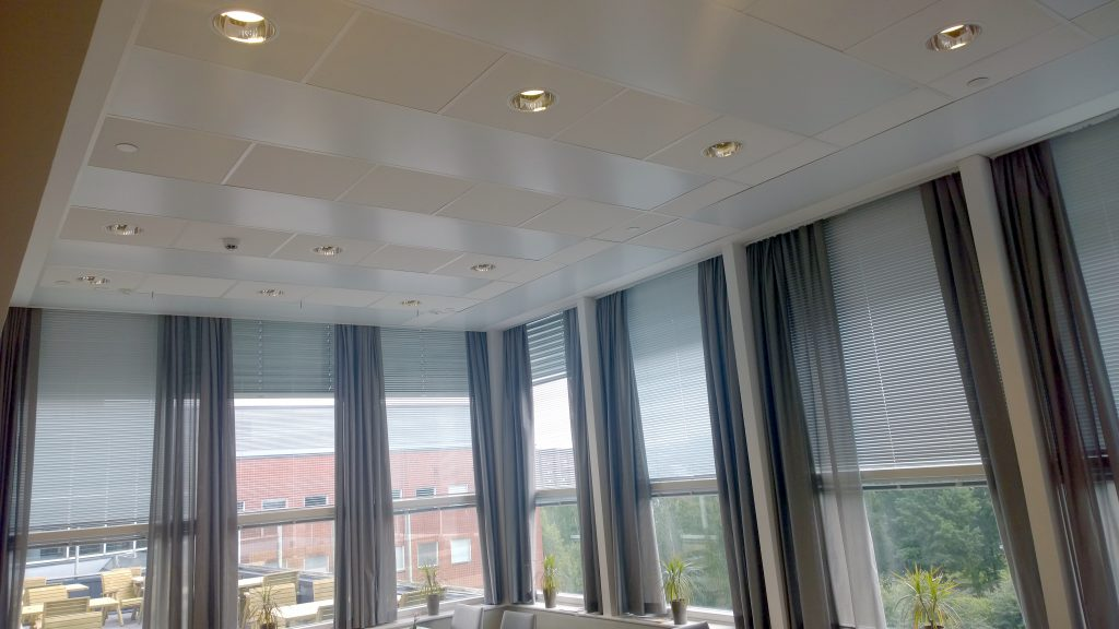 Ceilfit Radiant Panel For Grid Type Ceiling Mark Climate