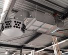 Gas-powered high-efficiency heating and ventilation units